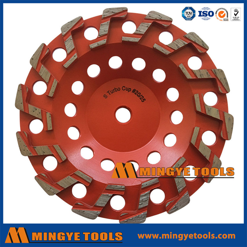 7 Aggressive Diamond Grinding Concrete Cup Wheels