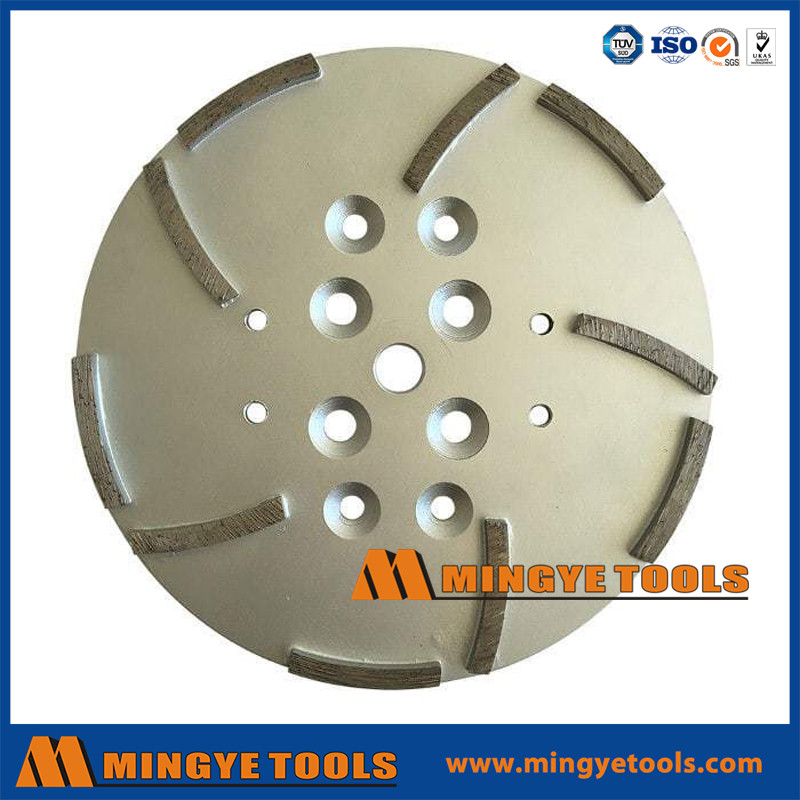 Concrete Grinding Head Disc Plate