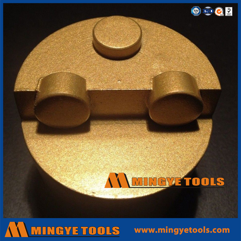 PCD Metal Grinding Plug for Terrazzo and Concrete